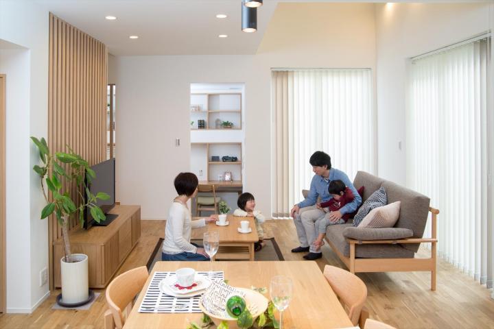 【婦中モデルハウス】むらなく心地よい涼しさに包まれる家