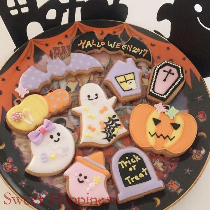 【可愛いハロウィンクッキー】つくりましょう♪