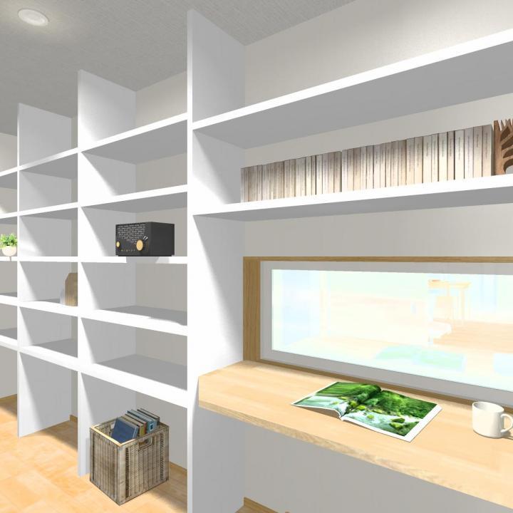 テレワークに、勉強に。壁一枚挟むことで、プライベート空間。