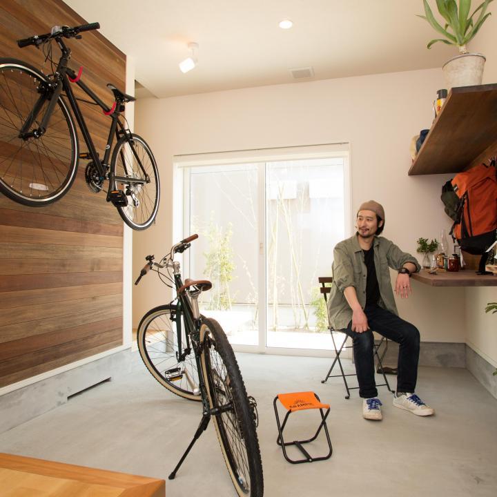 広々とした土間 全館空調システムで玄関も部屋と同様の快適性