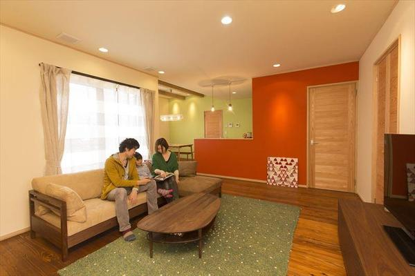 部屋ごとにテーマを決めてコーディネートされた空間